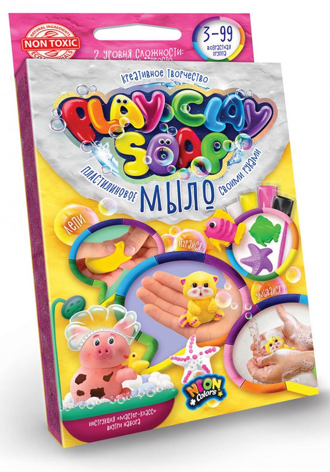 """Набір креативного творчості """"Пластилинове мило"""" Play Clay Soap малий PCS-02, розвиваюча іграшка, подарунок"""