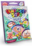 """Набір креативного творчості """"Пластилинове мило"""" Play Clay Soap малий PCS-02, розвиваюча іграшка, подарунок, фото 3"""