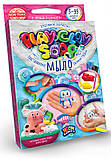 """Набір креативного творчості """"Пластилинове мило"""" Play Clay Soap малий PCS-02, розвиваюча іграшка, подарунок, фото 4"""