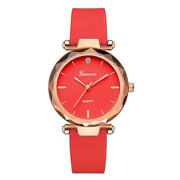 Жіночі наручні годинники з силіконовим ремінцем код 518