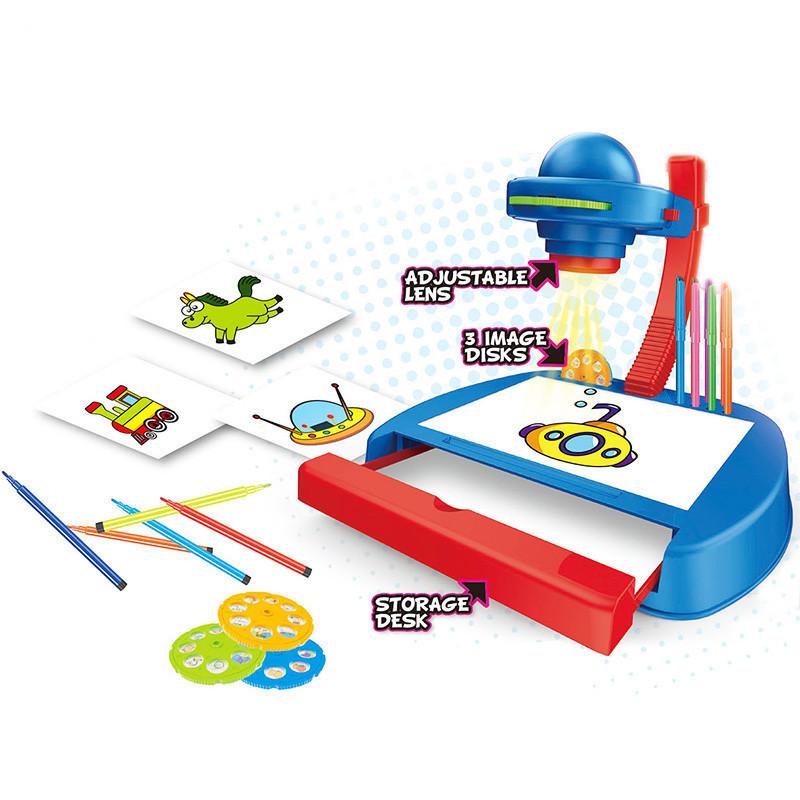 Набор для творчества Проектор YM888, развивающая игрушка, подарок ребенку