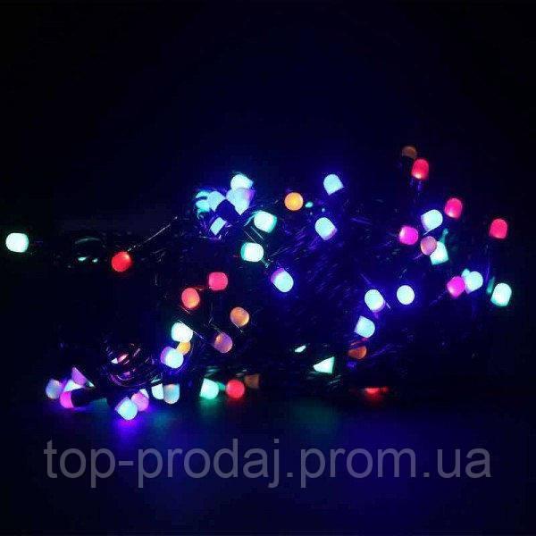 Гирлянда точка матовый 300LED 25м Микс (RD-7174), Гирлянда с с LED-лампами, Светодиодная новогодняя гирлянда