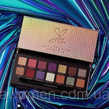 Уцінка! Палетка тіней для повік Anastasia Beverly Hills Jackie Aina Launch Edition!