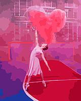 Картина по номерам В танце 40 х 50 см (без коробки)