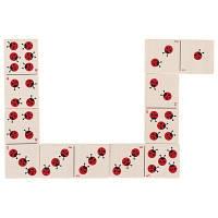 Настольная игра Goki Домино Божьи коровки (56716G)