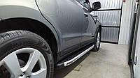 Боковые пороги Fullmond Hyundai Santa Fe 2006↗