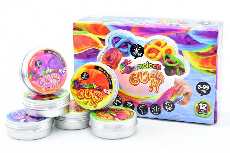 """Жуйка для рук """"Chameleon Gum"""" укр GUM-01-01UС, развивающая игрушка, подарок ребенку"""