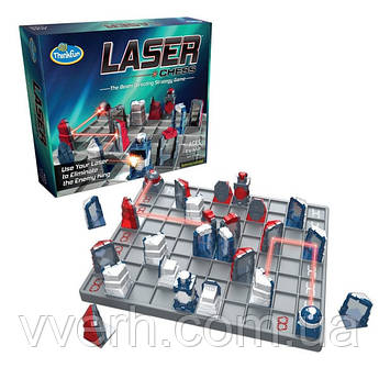 Стратегическая игра на двоих Лазерные шахматы   ThinkFun Laser Chess 1034