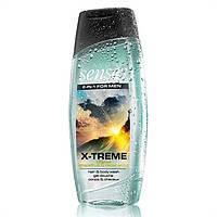 Шампунь-гель для душу для чоловіків з дезодоруючим ефектом «Екстрим» (500 мл) Шампунь-гель