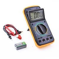 Мультиметр DT 9205A, Цифровой мультимер, Компактный мультиметр, Профессиональный мультиметр, Измеритель, фото 1