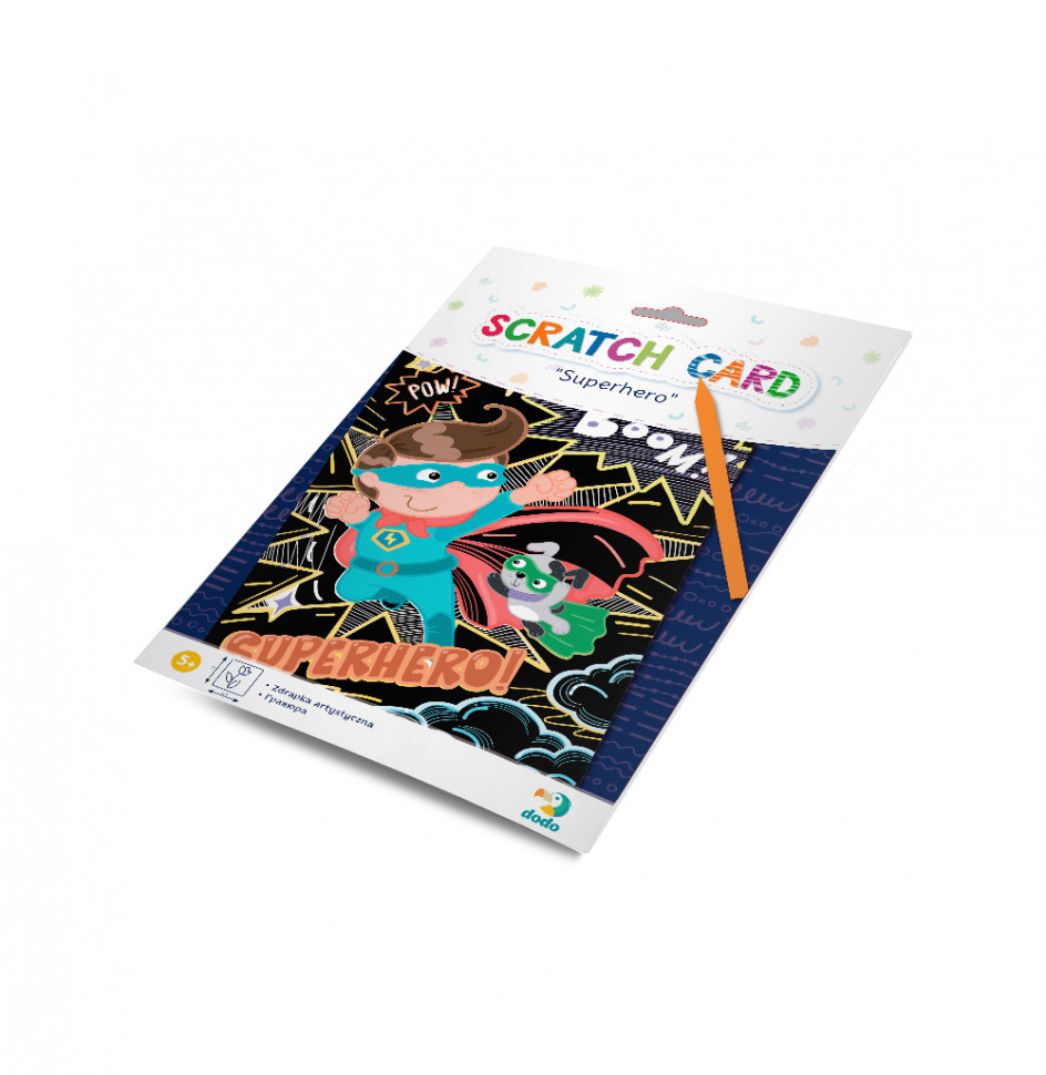 """Гравюра DoDo """"Супергерой"""" 300194, розвиваюча іграшка, подарунок дитині"""