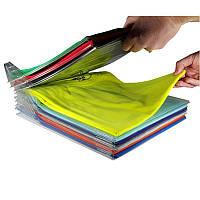 Органайзер EZSTAX, Набор органайзеров для хранения одежды, Набор разделителей для одежды, Хранение вещей
