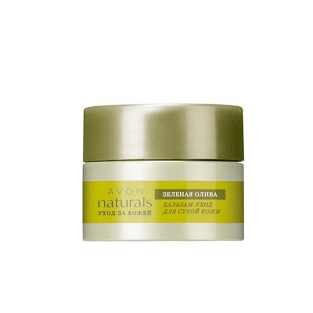 Бальзам-догляд для сухої шкіри «Зелена олива» Зволоження і живлення