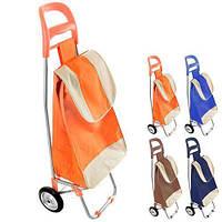 Тачка сумка тележка хозяйственная с металлическими колесиками 94 см (2079) сумка кравчучка