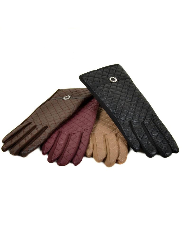 PODIUM Перчатка Женская Баллон-стрейч F11 ПЛ мод-4 color mix Распродажа