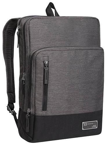 """Функциональный оригинальный рюкзак с отделением для ноутбука 15"""" OGIO Covert Pack, 111086.53 Heather Gray"""