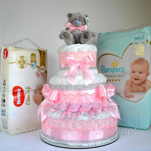 Подгузники для торта из памперсов