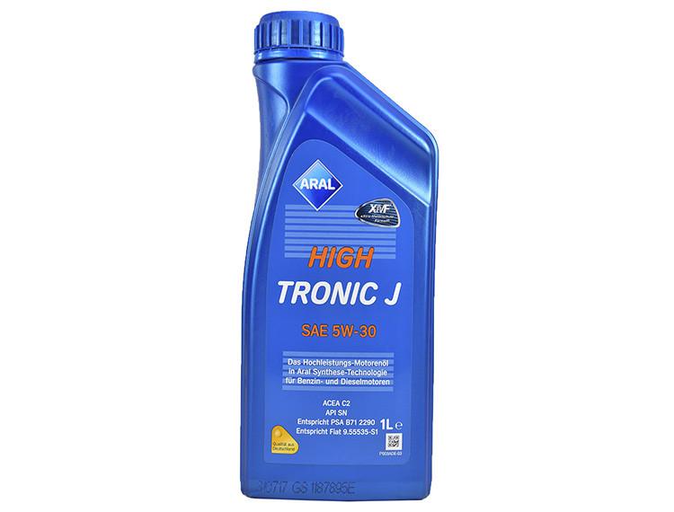 Моторное масло Aral High Tronic J 5W-30 1 л