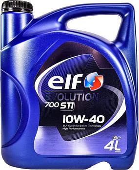 Моторное масло ELF Evolution 700 STI 10w40 1л. 4 л