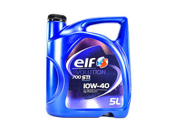 Моторное масло ELF Evolution 700 STI 10w40 1л. 5 л