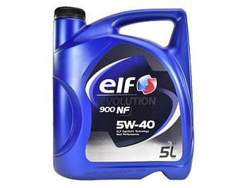 Моторное масло Elf Evolution 900 NF 5W-40 5 л