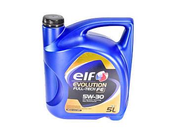 Моторное масло ELF Evolution Fulltech FE 5W30 1л. 5 л