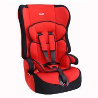Детское автокресло SIGER Прайм красный 1-12 лет 9-36 кг категория 1-2-3