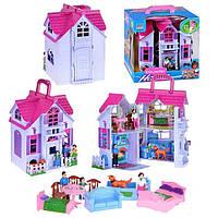 Домик для кукол F611 с фигурками и мебелью