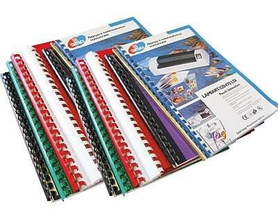 Брошурування, зшивання сторінок (біндер) на пластмасову пружину