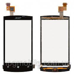 Touchscreen (сенсорный экран) для Acer M310, оригинал (черный)