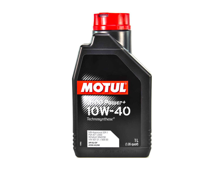 Моторное масло Motul 2100 Power+ 10W-40 1 л