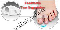 Footmate Toe Supporter Фиксатор-разделитель двух пальцев ноги супинатор 2 шт, фото 1