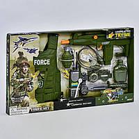 Военный набор 33490, световые и звуковые эффекты