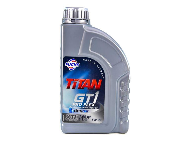 Моторное масло Titan GT1 Pro Flex XTL 5w30 1л.