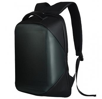 LED Рюкзак с анимационным дисплеем ID&ND (черный)