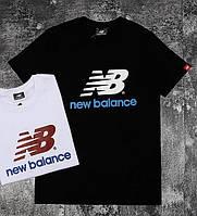 Черная мужская футболка New Balance M