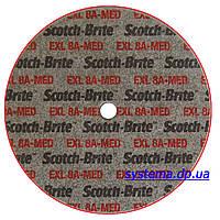3M 03889 XL-UW - Прессованный круг Scotch-Brite™ 152,4х12,7х6,35 мм 8A MED, для прямых и угловых шлифмашин