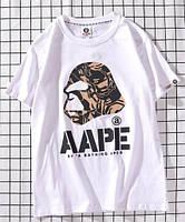 Bape футболка мужская белая M