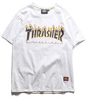 Thrasher x Dickies футболка белая M