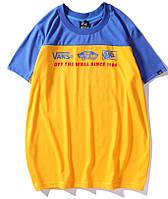 Vans футболка желтая M