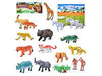 Набор игровых фигурок Дикие животные A 581