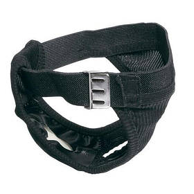 Гигиенические трусы Culotte Hygienic Black Mini для собак, черные, 32x37 см