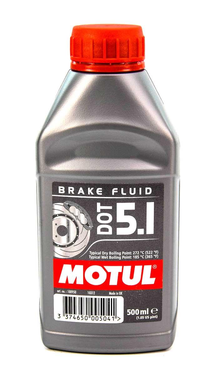Тормозная жидкость Motul DOT 5.1 0,5 л