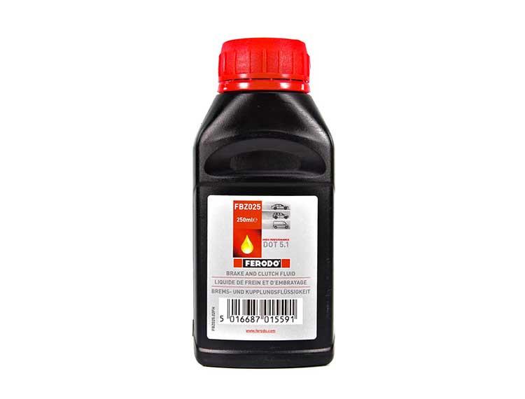 Тормозная жидкость Ferodo Synthetic DOT 5.1 0,25 л