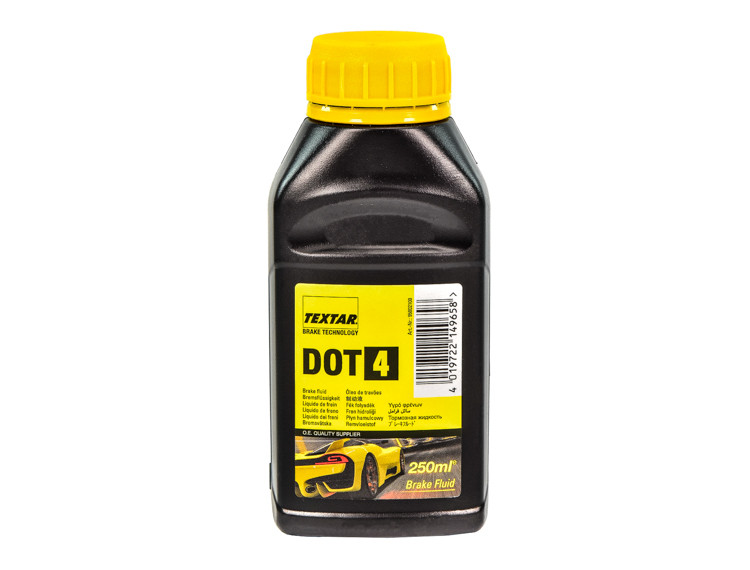 Тормозная жидкость Textar DOT 4 0,25 л