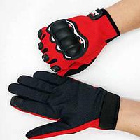 ОткрытыйтактическийПерчаткисзащитойот перчаток, полный палец Перчатки для езды на велосипеде Кемпинг охотничий черный синий красн-1TopShop