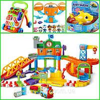 Фирменные игрушки для малышей 0-3 года. Ходунки, кресло-качалка, треки из США. Fisher Price, Vtech