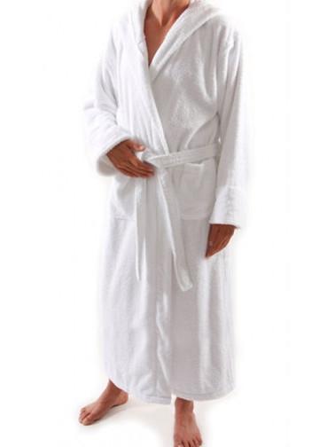 Халат махровый белый 480г/м2 Турция для гостиниц, отелей, SPA - салонов