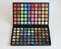Палитра теней для макияжа 120 цветов