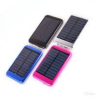 Зарядка с солнечной батареей POWER BANK SOLAR 25000ma